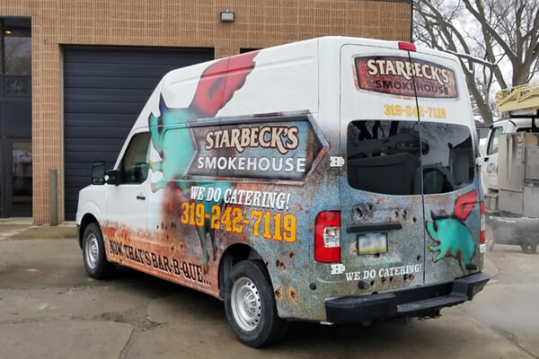 Starbeck's Smokehouse Partial Wrap