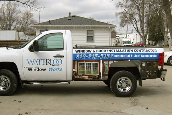 Partial Wraps Waterloo Window Works