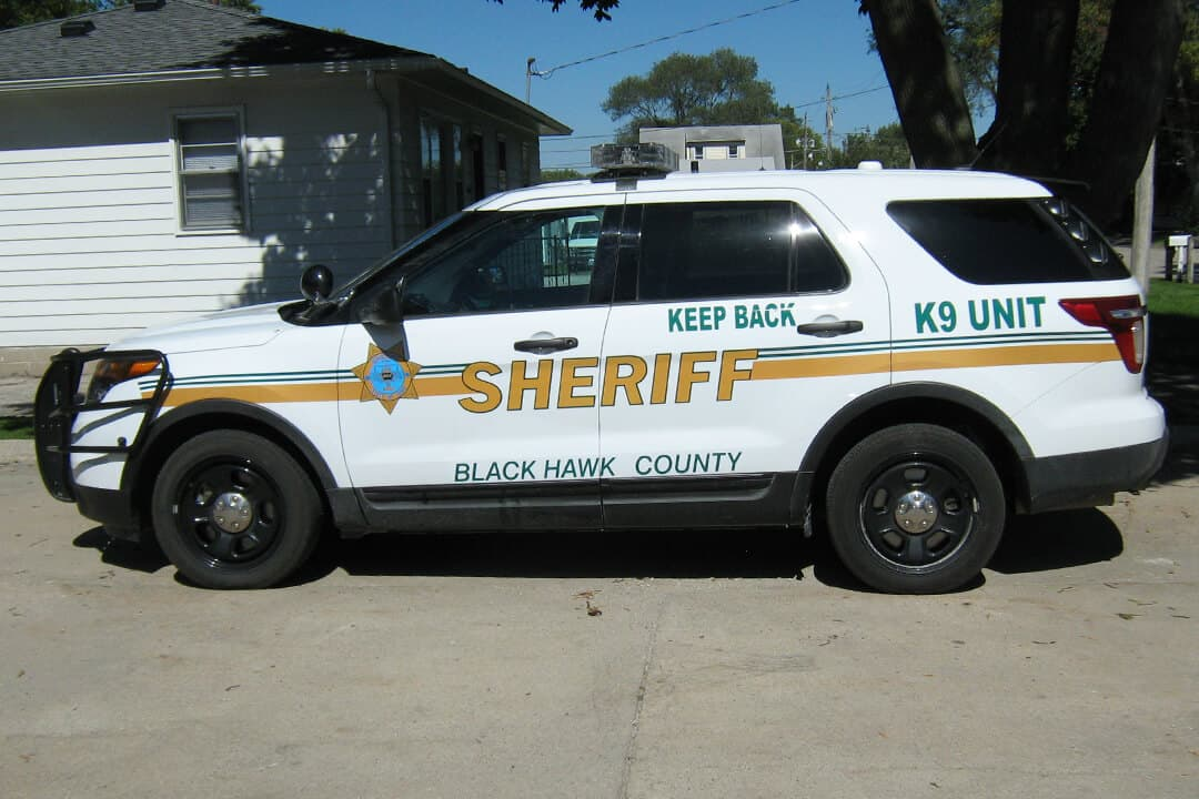 Vehicle decals black hawk county sheriff
