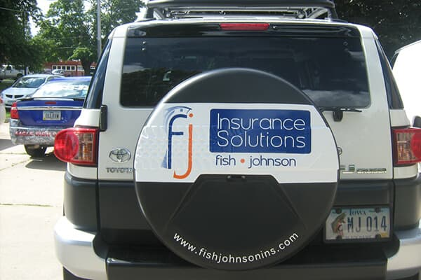 Vehicle Decals Fish-Johnson