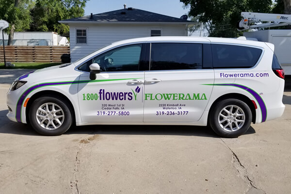 Vehicle Decals Flowerama