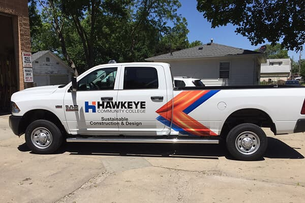 Vehicle Decals Hawkeye CC