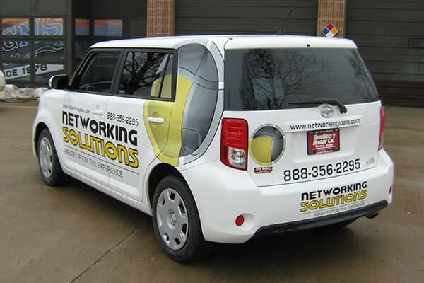 Vehicle Decals Networking Solutions