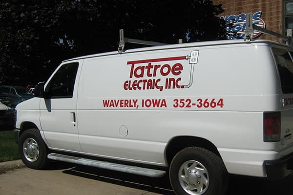 Vehicle Decals Tatroe Electric