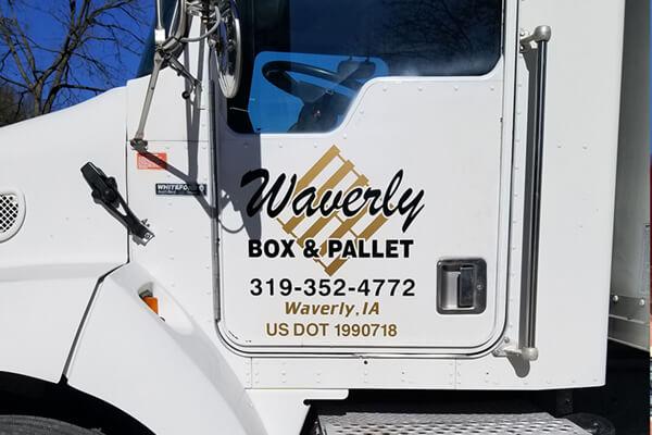 Vehicle Decals Waverly Box & Pallet